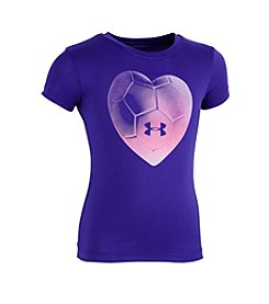 Under Armour® Girls' 2T-6X Short Sleeve Heartbeat Tee