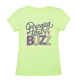 Under Armour® Girls' 2T-6X Short Sleeve Bring The Buzz Tee