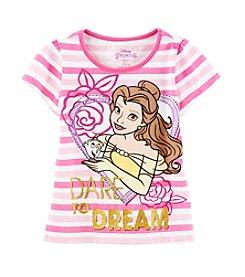 Disney® Girls' 2T-6X Belle Dare To Dream Printed Tee