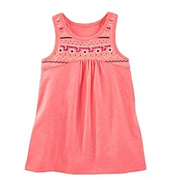 OshKosh B'Gosh® Girls' 4-6X Embelished Yoke Tunic