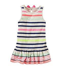 OshKosh B'Gosh® Girls' 4-6X Striped Flare Peplum Tunic