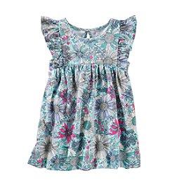 OshKosh B'Gosh® Girls' 2T-4T Floral Printed Tunic