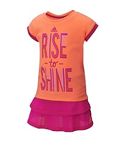 adidas® Baby Girls' Rise To Shine Skort Set