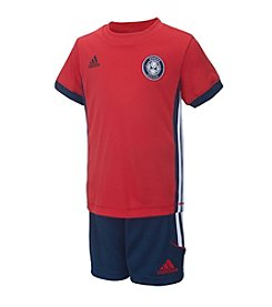 adidas® Baby Boys Soccer Short Set