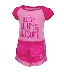 adidas® Baby Girls' Busy Being Awesome Set
