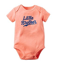 Carter's® Baby Boys Little Brother Printed Bodysuit