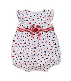 Little Me® Baby Girls' Stars Printed Sunsuit