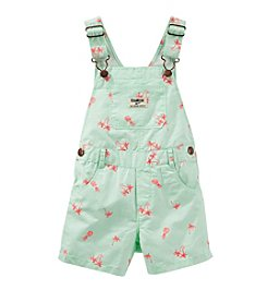 OshKosh B'Gosh® Baby Girls' 12-24 Month Printed Shortalls