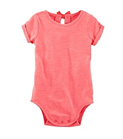 OshKosh B'Gosh® Baby Girls' 12-24 Month Bow Tie Back Bodysuit