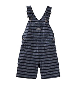 OshKosh B'Gosh® Baby Boys' Striped Denim Shortalls