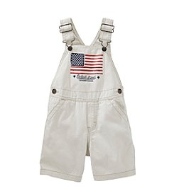 OshKosh B'Gosh® Baby Boys' American Flag Shortalls