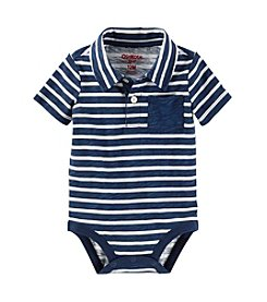 OshKosh B'Gosh® Baby Boys' Striped Polo Bodysuit