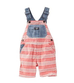 OshKosh B'Gosh® Baby Boys' Striped Chambray Shortalls