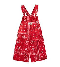 OshKosh B'Gosh® Baby Girls' Bandana Printed Shortalls