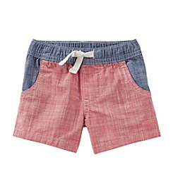 OshKosh B'Gosh® Baby Boys' Month Woven Chambray Shorts