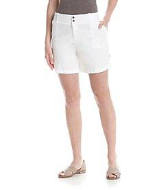 Rafaella® Solid Poplin Shorts