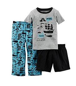 Carter's® Boys 12M-12 3-Piece Pirate Sleepwear Set