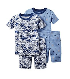 Carter's® Baby Boys 4-Piece Fish Sleepwear Set