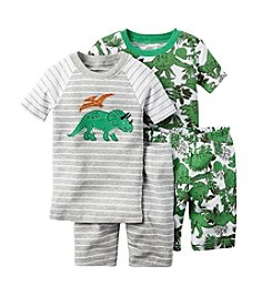 Carter's® Boys' 12M-12 4-Piece Dino Sleepwear Set