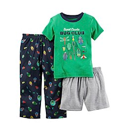 Carter's® Boys' 12M-12 3-Piece Bug Club Sleepwear Set
