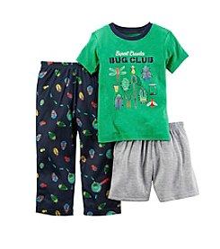 Carter's® Boys' 12M-12 3-Piece Bug Club Sleepwear Set