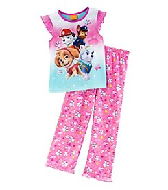 Nickelodeon® Girls' 4-8 2-Piece Paw Patrol Pajama Set