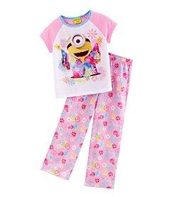 Despicable Me® Girls' 4-10 2-Piece Minon Pajama Set