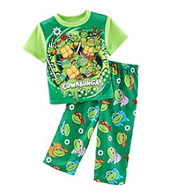 Teenage Mutant Ninja Turtles® 2T-4T Boys' 2-Piece TMNT Cowabunga Pajama Set