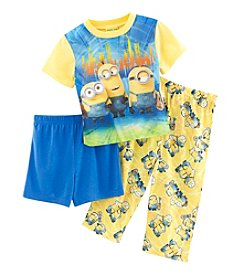 Despicable Me® Boys' 2T-4T 3-Piece Minions Pajama Set