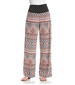 AGB® Geo Print Soft Pants