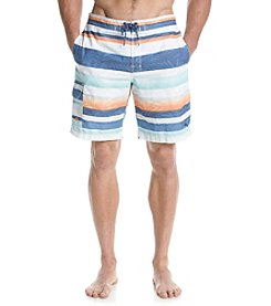 Tommy Bahama Men's Baja Fronds De Leon Striped Swim Trunks