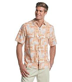 Tommy Bahama® Men's Geo-Tastic Camp Short Sleeve Button Down Shirt