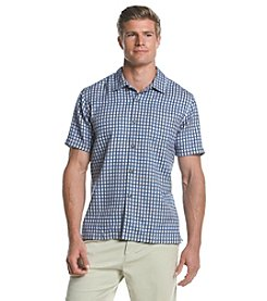 Tommy Bahama® Men's Squared Up Short Sleeve Button Down Shirt
