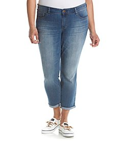 Jessica Simpson Plus Size Forever Skinny Cropped Jeans