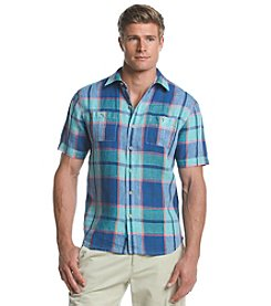 Tommy Bahama® Men's Master Plaid Breezer Short Sleeve Button Down Shirt