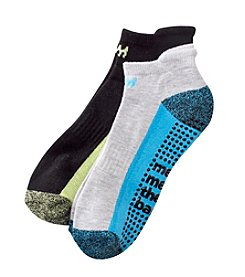 Steve Madden 2 Pack Athletic Low Cut Barre And Yoga Socks