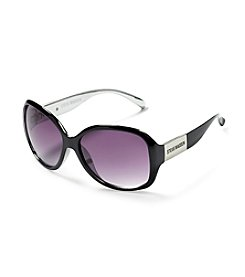 Steve Madden Plastic Rectangle Sunglasses