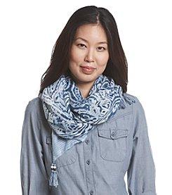 Cejon® Tie Dye Paisley Print Day Wrap