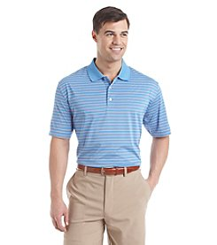 Jack Nicklaus Men's Glenmoor Striped Short Sleeve Polo Shirt