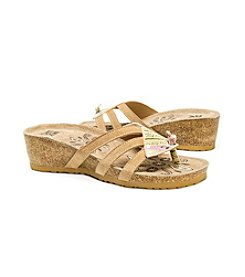 MUK LUKS Women's Allison Wedge Sandals