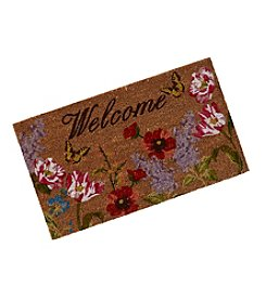 LivingQuarters Botanical Collection Coir Mat