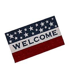 LivingQuarters Americana Collection Coir Mat