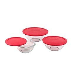 Pyrex® Three Lidded Mixing Bowls