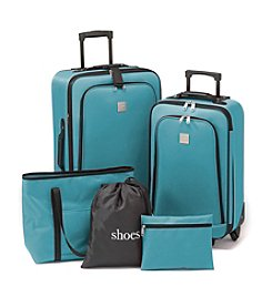 Relativity® Teal Expandable 5-Pc. Luggage Set