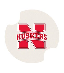 NCAA® University of Nebraska Set of Two Carsters Coasters