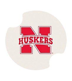NCAA® University of Nebraska Set of Two Carsters Coasters