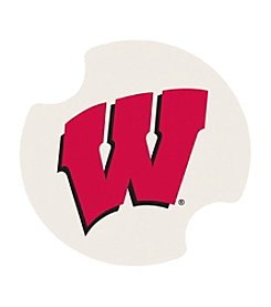 NCAA® University of Wisconsin Set of Two Carsters Coasters