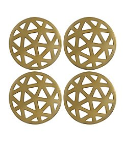 Thirstystone® Old Hollywood Set of Four Geometric Cut Coasters
