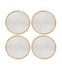 Thirstystone Old Hollywood Set of Four Hammered Metal Coasters