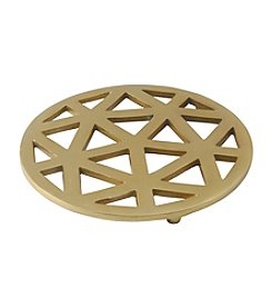 Thirstystone® Old Hollywood Goldtone Metal Trivet